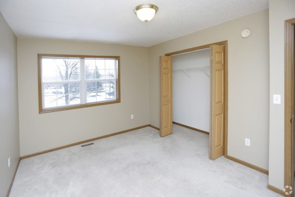 Times Square Luxury Townhomes for lease in Grand Forks with attached garage.