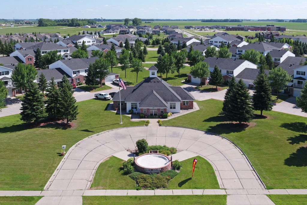 Times Square Luxury Townhomes in Grand Forks