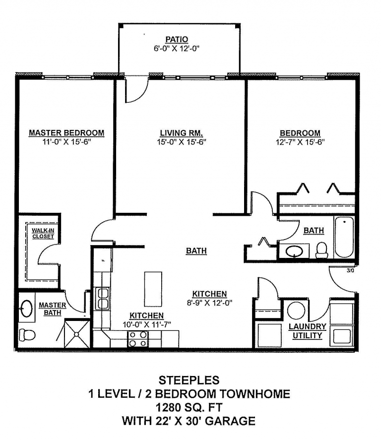 2 Bedroom Apartment Grand Forks