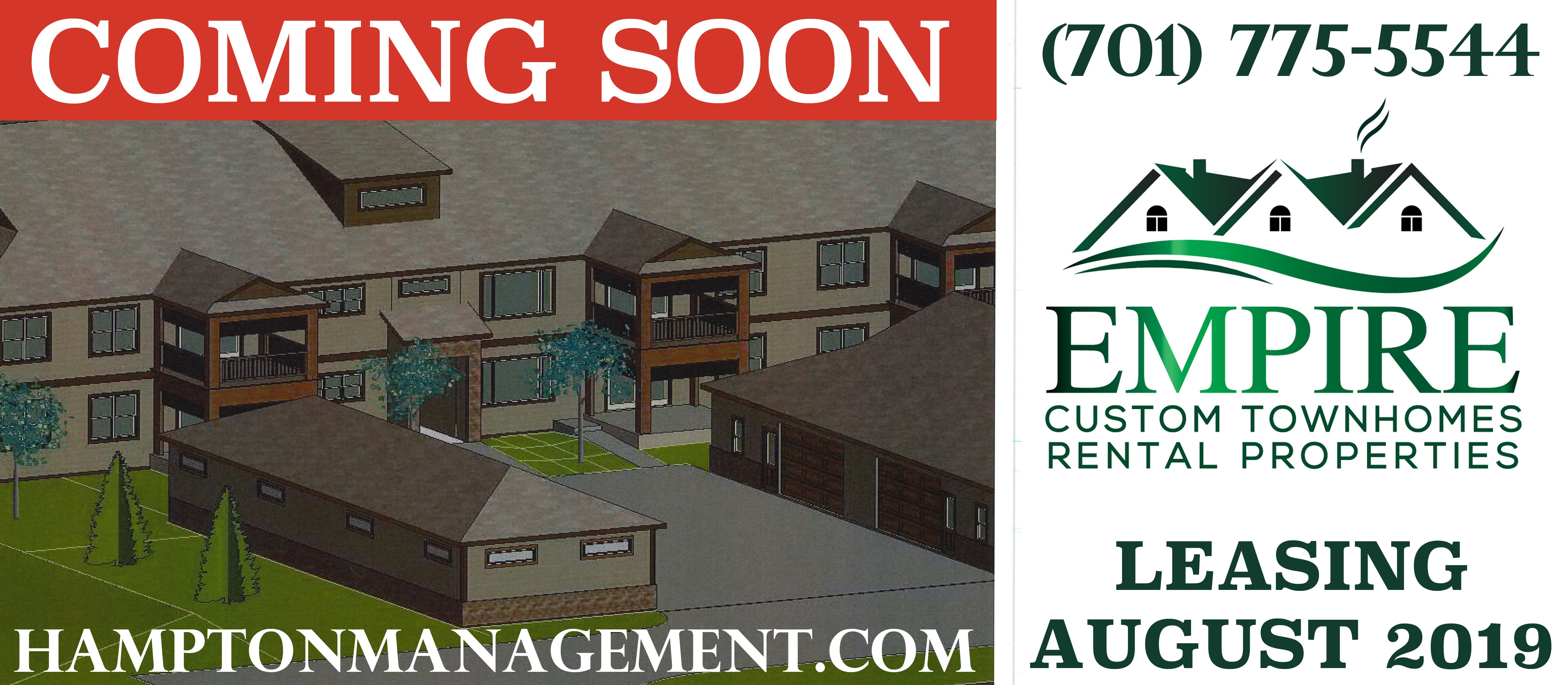 Empire Custom Townhomes Grand Forks