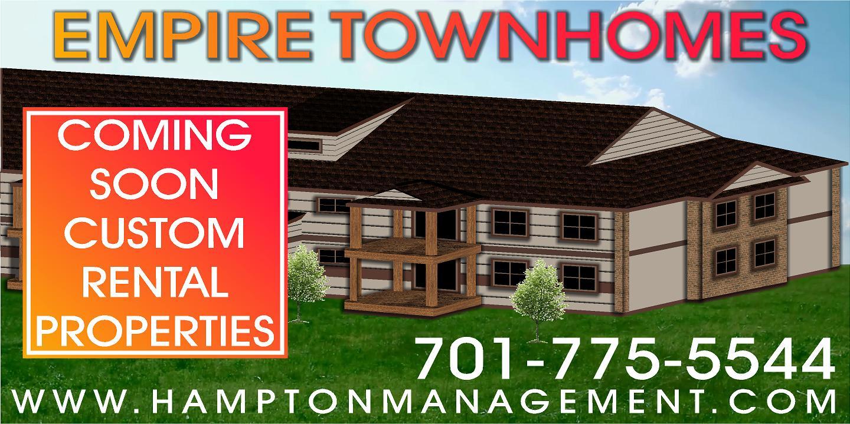 Empire Custom Townhomes Grand Forks – Hampton Management