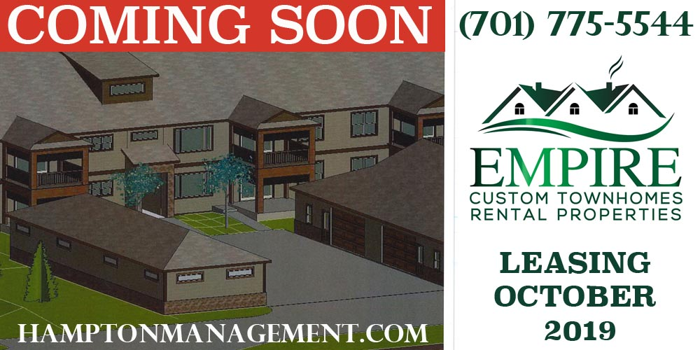 Empire Luxury Townhomes Grand Forks 2 and 3 Bedrooms