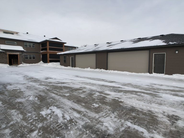 Empire Custom Townhomes Grand Forks Garage